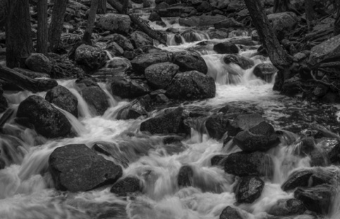 "Bridal Veil Creek ""Photography and the Creative Eye"" Pacific Art League June 2018"