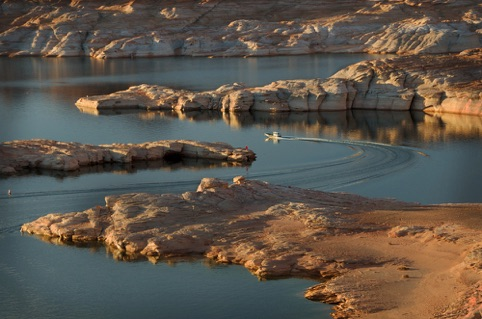 "Morning on Lake Powell ""Landscapes, Seascapes, and Urbanscapes"" Pacific Art League October 2014"